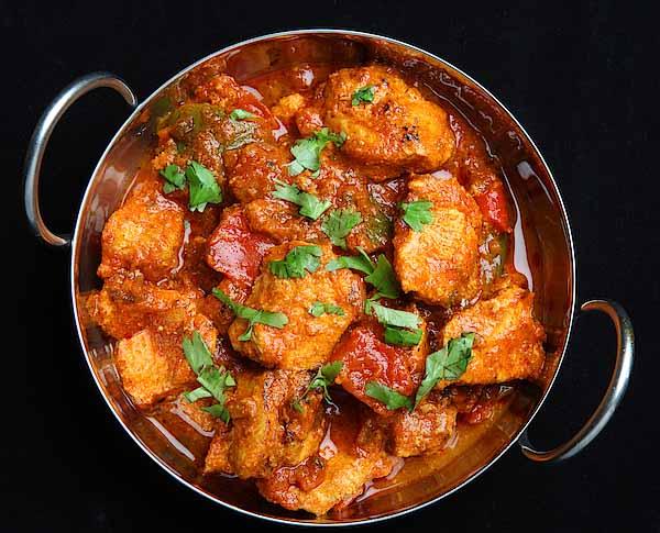 Pollo al curry receta casera