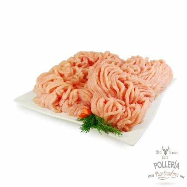 carne picada de pollo de corral_polleria_somolinos