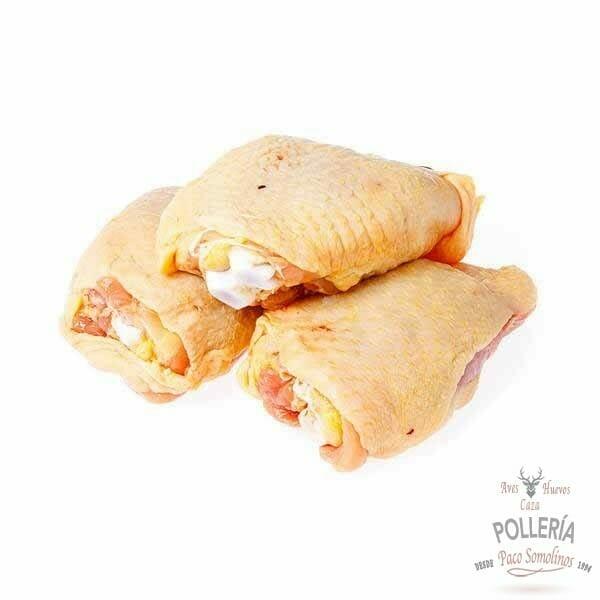 contramuslo pollo de corral_polleria_somolinos