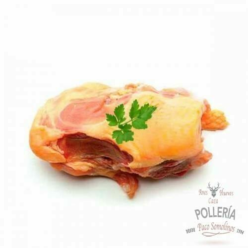 esqueleto de pollo de corral_polleria_somolinos