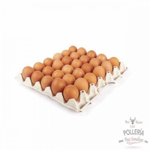 carton de huevos morenos alcarria_pollería_somolinos