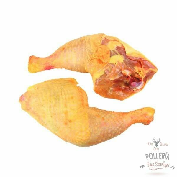 muslos de pollo de corral_polleria_somolinos
