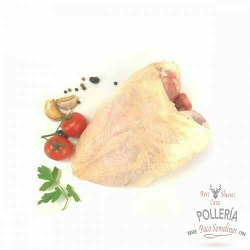 pechuga de pollo de corral con hueso_polleria_somolinos