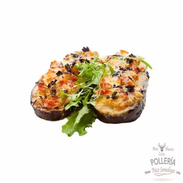 berenjenas rellenas de pollo_polleria_somolinos