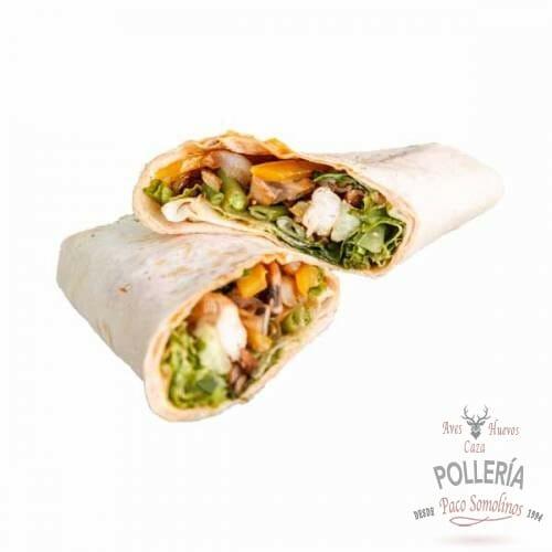 burritos de pollo con guacamole_polleria_somolinos
