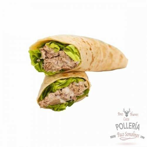 burritos rellenos de atun con mozzarella_polleria_somolinos