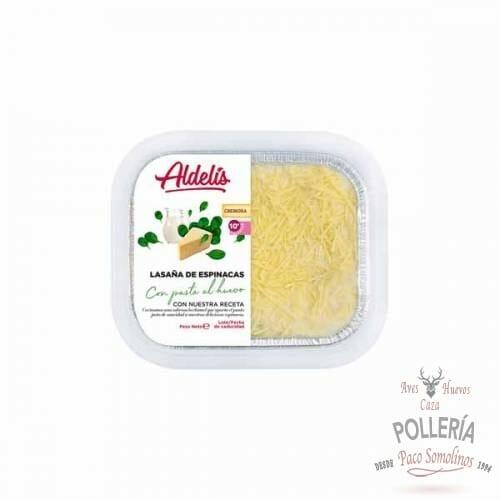 lasaña de espinacas_polleria-somolinos