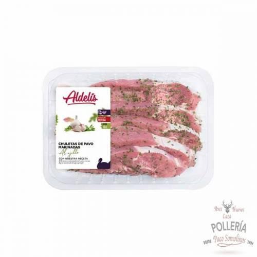 pechuga de pavo aliñada_polleria_somolinos