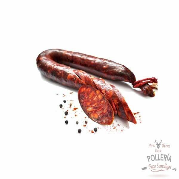 chorizo de ciervo-venado_polleria_somolinos