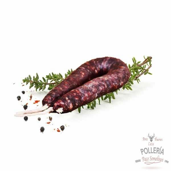 salchichón de venado_polleria_somolinos