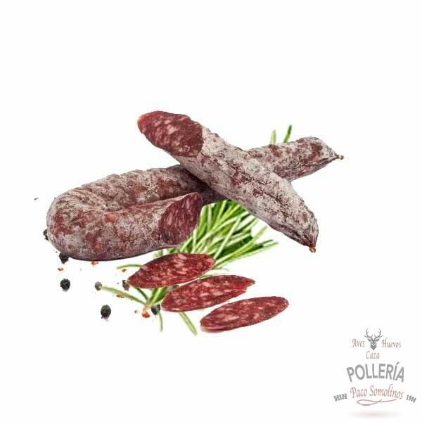 salchichon de ciervo_polleria_somolinos