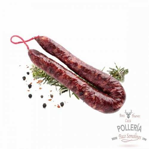 salchichon de venado_polleria_somolinos