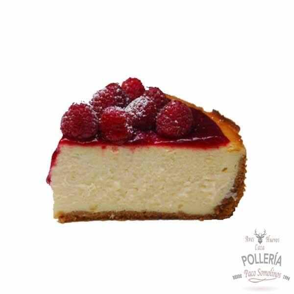 tarta de queso con frambuesa_polleria_somolinos