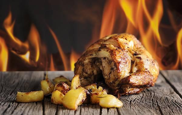 pollo estilo asador de pollo