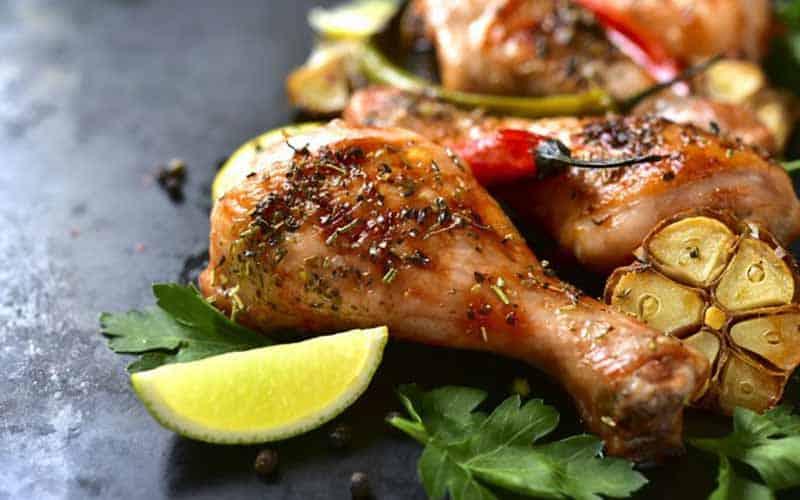 receta pollo al ajillo-polleria-somolinos