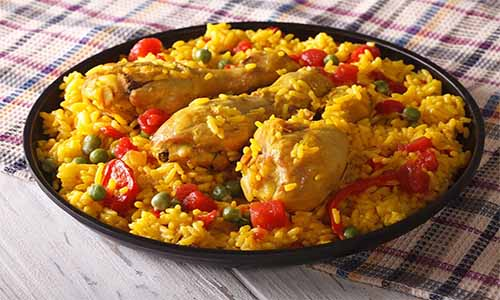 arroz con pollo fácil polleria somolinos