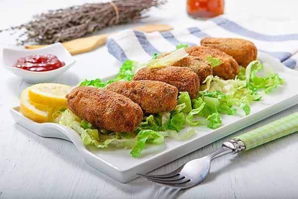 croquetas de pollo caseras polleria somolinos